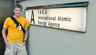 Andrew Ferguson at IAEA