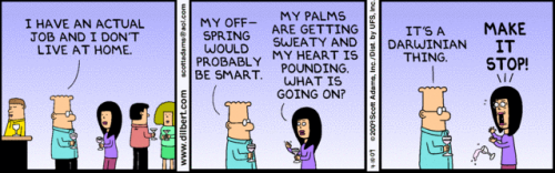Dilbert from 10 April 2009