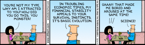 Dilbert from 11 April 2009